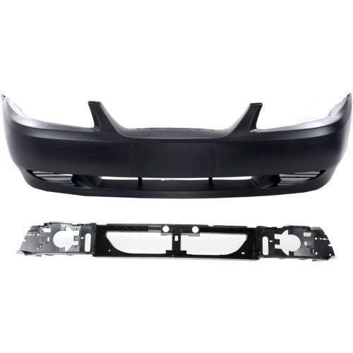 Bumper Cover Kit For 99-2004 Ford Mustang Front Primed Bumper Cover 2pc