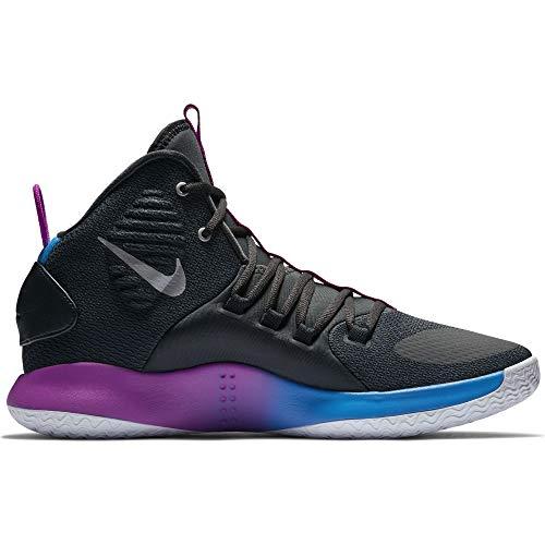 2342badd28fa56 Nike Men s Hyperdunk X Basketball Shoe Cool Grey Team Red Size 11.5 M US