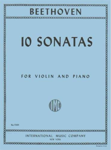 Beethoven, Ludwig - 10 Sonatas (Complete) - Violin and Piano - by David Oistrakh - International