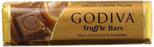 Godiva Milk Chocolate Caramel Bar, 1.5000-ounces (Pack of 8)