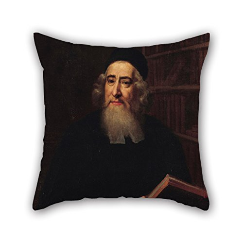 Loveloveu Pillowcase Of Oil Painting Dannor - Rabbi Aaron Hart (Uri Feivel),for Drawing Room,teens Girls,study Room,son,teens 20 X 20 Inches / 50 By 50 Cm(2 (2)