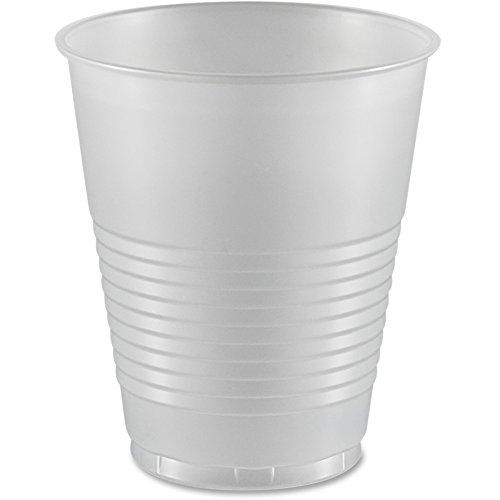 Dart Y12S Conex Translucent Plastic Cold Cups, 12oz 50 per Bag (Case of 20)