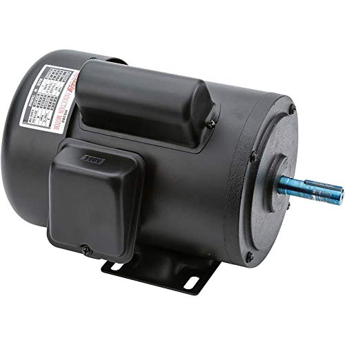 Grizzly H5380 Motor 1 HP Single-Phase 3450 RPM TEFC 110V/220V ()