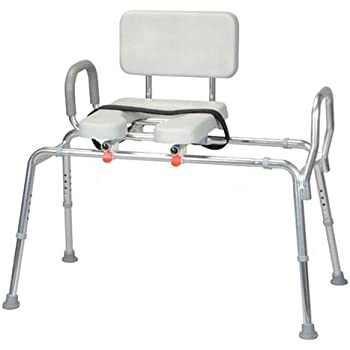 Amazon Com Transfer Bench With Padded Cut Out And Handle