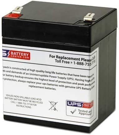 APC Back-UPS RS 500VA BR500I Compatible Replacement Battery by UPSBatteryCenter