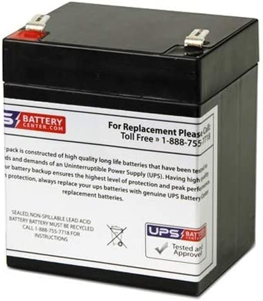 APC Back-UPS Pro 420 BP420SUS Compatible Replacement Battery by UPSBatteryCenter