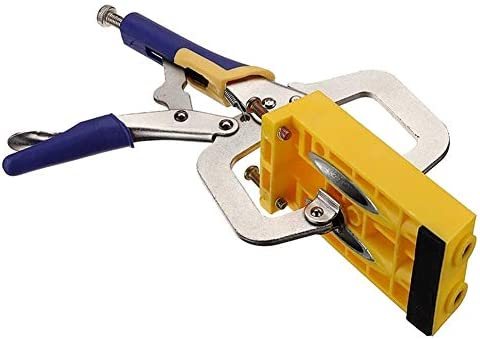 Pocket Hole Jig Pocket Hole Jig Oblique Hole Locator Kit Woodworking Puncher Electric Drill Positioning Tool Pocket Hole Screw Jig Dowel Drill