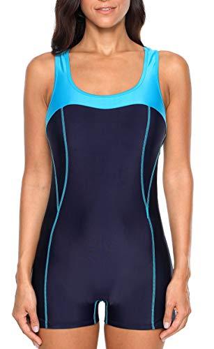 ATTRACO Sports One Piece Swimsuits for Women Training Swimwear XXL