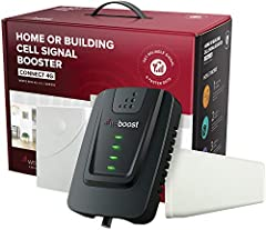 Boost your cell coverage and get superior connectivity at your home or office with the Connect 4G Cellular Signal Booster from weBoost! Bid farewell to dropped calls and lay the foundations for a more productive workspace or a happier home wi...