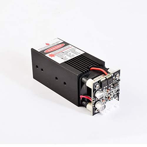 Blue Laser Module 405nm/450nm 500mW/2.5W/5.5W/10W/15W Focusable for 3D Printer/CNC Engraving/Laser Engraving (4W)