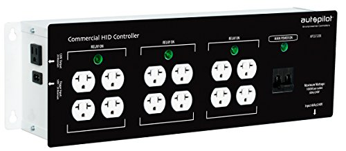 Autopilot Commercial High Power HID Controller 12 Light 2018 Model (High Controller Hid Power)