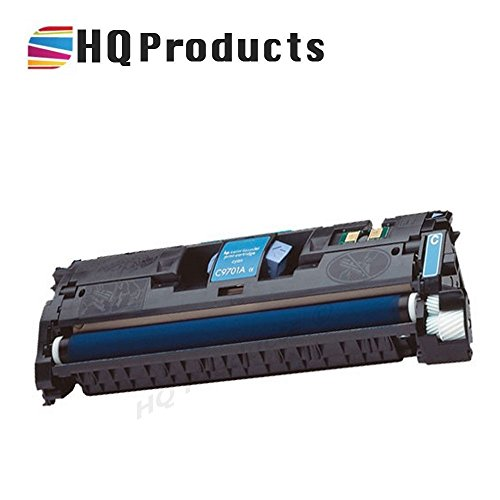 HQ Products Remanufactured Replacement HP 121A Cyan (C9701A ) Toner Cartridge for use in HP Color Laserjet 1500 2500, 2500n, 1500L, 2500tn, 1500Lxi, 2500, 2500, 2500Lse Series Printers.