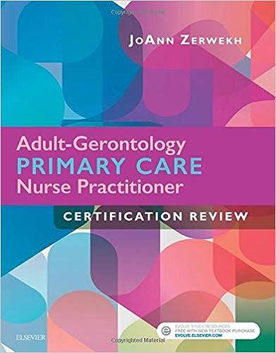 Adult-Gerontology Primary Care Nurse Practitioner Certification