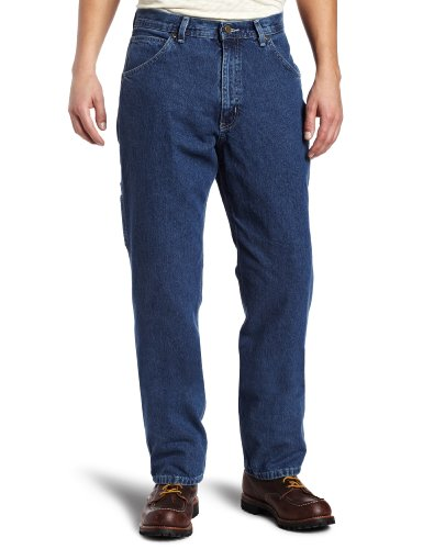 Denim Dungarees Mens (Key Apparel Men's Big-Tall Relaxed Fit Enzyme Wash Ring Spun Denim Dungaree, Denim, 48x30)