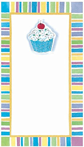 Amscan 493561 Perfect Cupcake Confection Printable Invitation Sheets Paper 7'' x 4'' Pack 8 Childrens Party (48 Piece) by Amscan