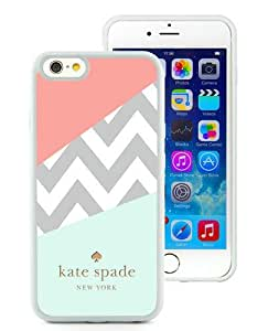 Fashion And Unique iPhone 6 4.7 Inch TPU Case Designed With Kate Spade 108 White iPhone 6 Cover