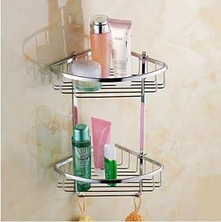 Lnxd Modern Sanitary Set Hardware Cromato Accessori Bagno Prodotti,Portasalvietta,Il Portasciugamani Anello Portaasciugamano Impostare,Portaspazzole