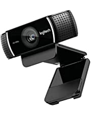 لوجيتيك كاميرا ويب وضوح 1920 x 1080 متوافقة مع بي سي و ماك - C922