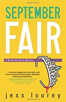 September Fair (The Murder-By-Month Mysteries Book 5) by [Lourey, Jess]
