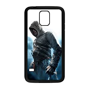 Samsung Galaxy s5 Black Cell Phone Case Assassins Creed LWDZLW0542 Design Custom Phone Case Cover