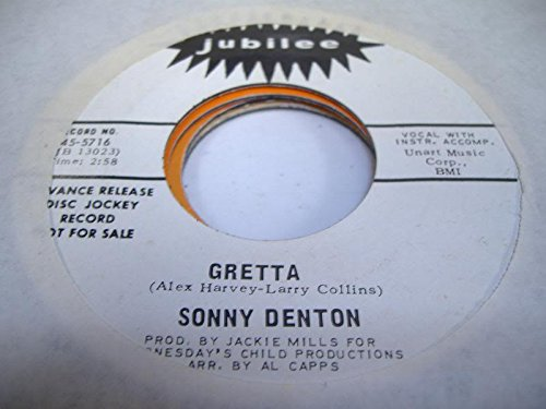 SONNY DENTON 45 RPM Gretta / - Malls Denton