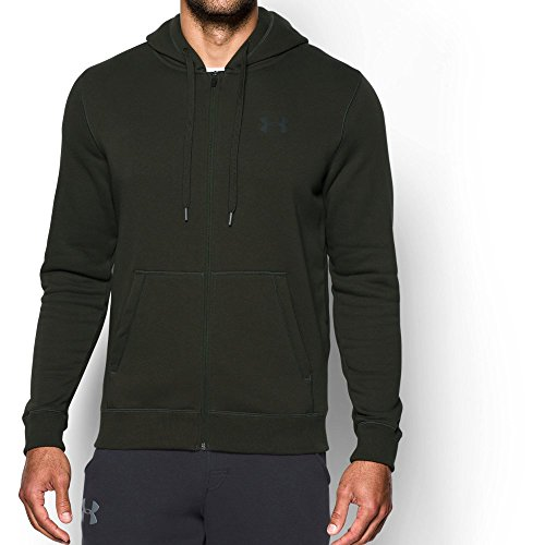 5bfd5d336262 Galleon - Under Armour UA Rival Fleece Fitted Full Zip XL Artillery ...