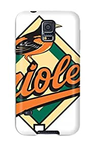 For Galaxy S5 Premium Tpu Case Cover Baltimore Orioles Protective Case by kobestar