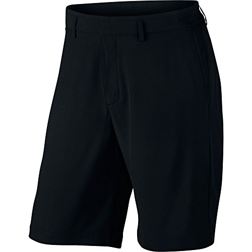 Stretch Woven Men's Golf Shorts - Black (34) (Nike Relaxed Fit Shorts)