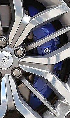 Brembo Caliper Kit - Range Rover Sport Supercharged L405 L494 Blue SVR Brembo Caliper Brake Kit OEM