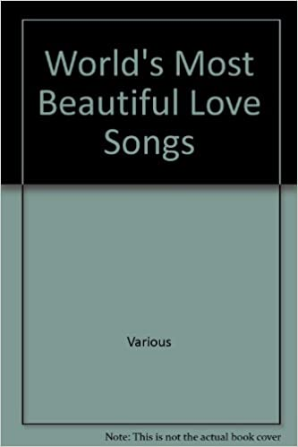 Amazoncom Worlds Most Beautiful Love Songs Sheet Music