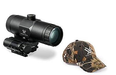 Vortex VMX-3T Sight Magnifier with Vortex Hat by Vortex Optics