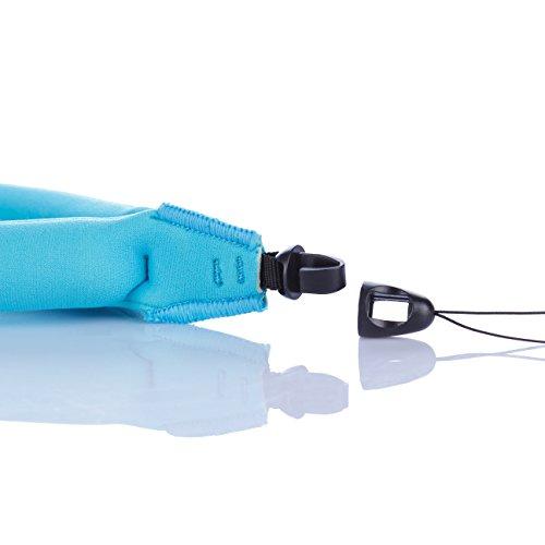 Waterproof Camera Float (2-Pack), JOTO Floating Strap for Waterproof Underwater Camera Camcorders Phones- Waterproof Float Floating Hand Grip -Blue