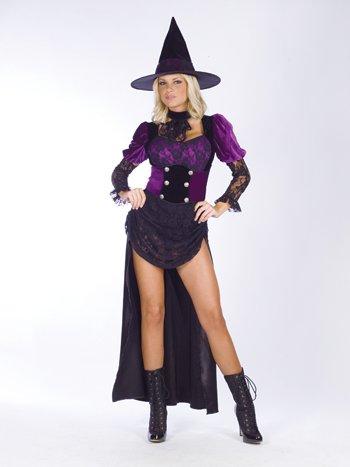 - Burlesque Witch Adult Costume - Small/Medium