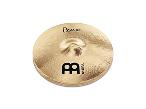Meinl Cymbals B14MH-B Byzance 14-Inch Brilliant Medium Hi-Hat Cymbal Pair (VIDEO)