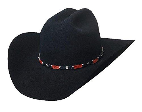 10 X Straw Cowboy Hat - 3