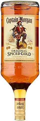 Capitán Morgan Spiced original Oro 1.5L (paquete de 1.5ltr ...
