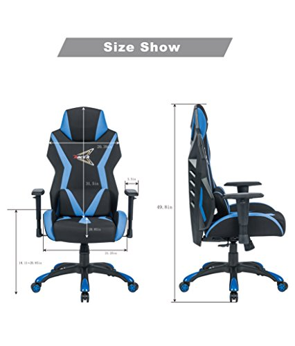 41EATLP jmL - High-Back-Video-Game-Computer-Game-Racing-Style-E-sports-Comfortable-Office-Chair