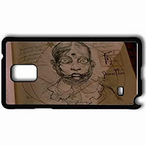 Personalized Samsung Note 4 Cell phone Case/Cover Skin 13 Ghosts Black by supermalls