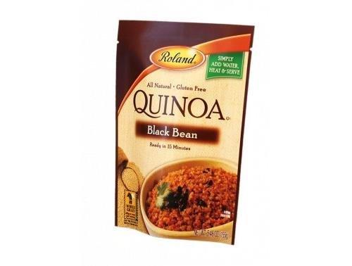 Black Bean Quinoa 5.46 Ounces (Case of 12) by Roland
