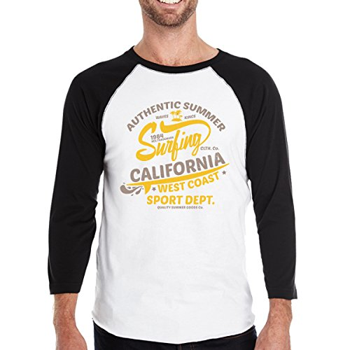 Summer Authentic Surfing Manches Homme Printing Unique California Taille T shirt Courtes 365 wza1KZq7Z