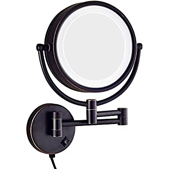 Amazon Com Dowry Led Lighted 10x Magnifying Makeup