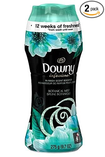 Downy Infusions in Wash Scent Booster Beads - Botanical Mist 9.7 oz. (Pack of