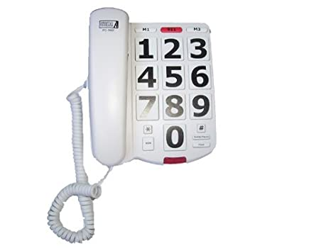 Tremendous Amazon Com Future Call Fc 1507 Big Button Phone With 40Db Handset Wiring 101 Tzicihahutechinfo