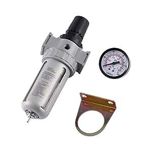 Funnyrunstore Unidad de control de aire Compresor de aire Lubricador de aceite Filtro de trampa de