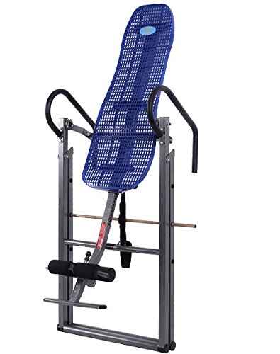 K&A Company Foldable Abs Inversion Table Gravity Therapy Back Pain Fitness Reflexology Exercise Home New Blue by K&A Company