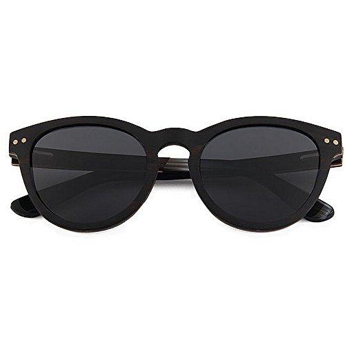 del polarizadas mano Protección Gafas UV de Decoración hechas alta gafas sol de de Gafas sol sol sol mano Retro del de calidad madera a caballero Negro de de remache so de Gafas hechas gafas a de conducción F1TU6q