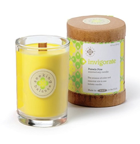 From Usa Root Scented Seeking Balance Invigorate Candle