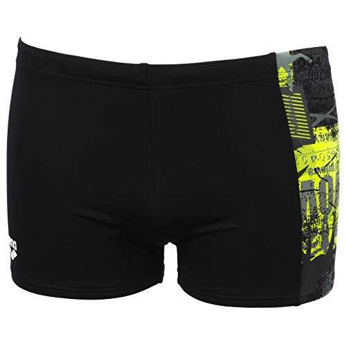 Arena Passport panel short blk - Maillot de bain boxer