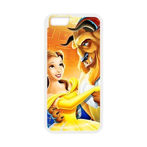 Beauty and the Beast The Enchanted Christmas iPhone 6 Plus 5.5 Inch Cell Phone Case White szpe (Enchanted And Castle Beauty Beast The Christmas)
