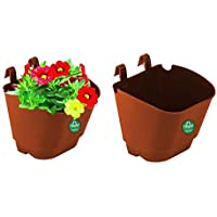 Vertical Gardening POTS/PLANTERS(Small) - Brown